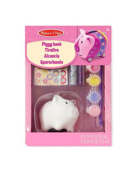 "Taupyklės dekoravimo rinkinys MELISSA & DOUG ""Piggy"", 1 vnt."