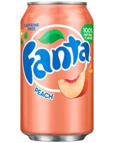 Persikų skonio FANTA, 355 ml