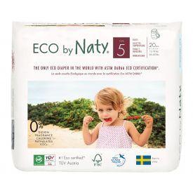 Sauskelnės-kelnaitės EKO by NATY 5 Junior 12-18 kg vaikams, 20 vnt.