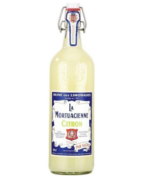 Gazuotas gaivusis gėrimas LA MORTUACIENNE,citrinų skonio,1L