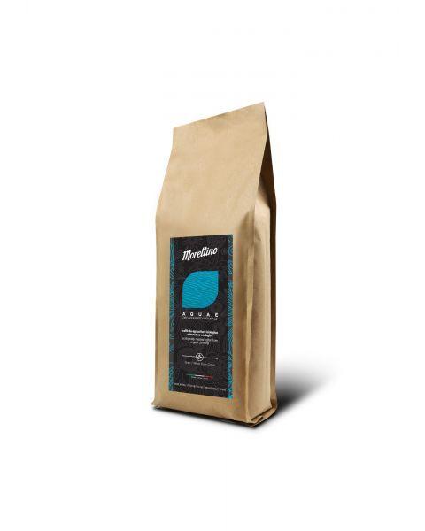 Ekologiškos kavos pupelės be kofeino MORETTINO Aquae, 500 g