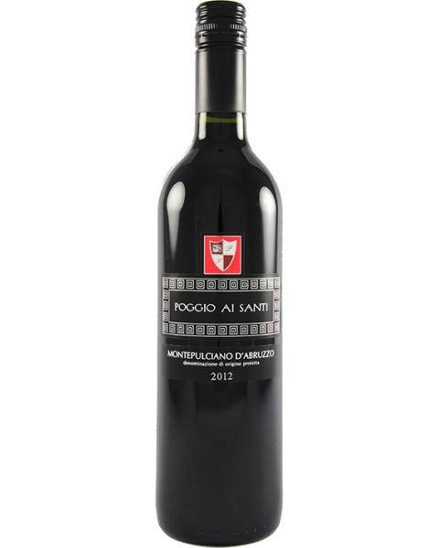 Raudonas sausas vynas Pogio ai Santi Montepulchiano D'Abruzzo 13%, 750ml
