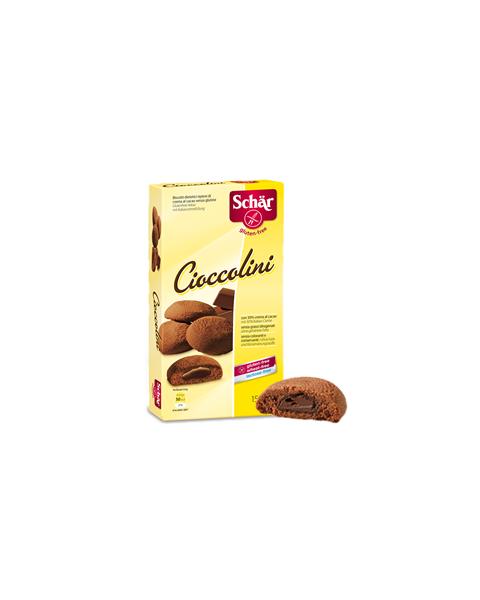 Sausainiai SCHAR Cioccolini be gliuteno, 150g