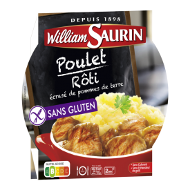 Vištiena su bulvių su koše WILLIAM SAURIN, 300g