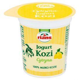 Ožkų pieno jogurtas RIANS su citrina, 120g