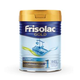Pradinio maitinimo mišinys Frisolac gold 1 kūdikiams 0-6 mėn. FRIESLAND CAMPINA, 400 g