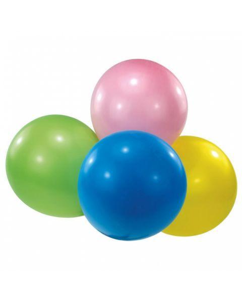 Lateksiniai spalvoti balionai AMSCAN, 4 vnt., 40.6 x 16 cm