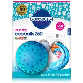 Skalbimo rutuliai ECOZONE Ecoball, linų kvapo, 250 skalbimų, 1 vnt.