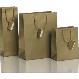 Dovanų maišelis ZOEWIE Uni Fashion Gold (12.3x7.8x36.2 cm), 1 vnt.