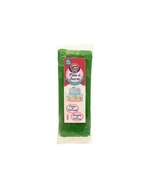 Cukraus masė dekoravimui SAINTE LUCIE, žalios spalvos, 100 g