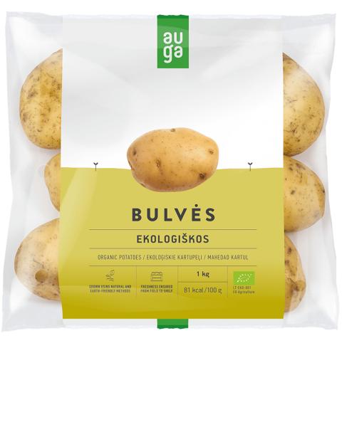 """Ekologiškos bulvės ,,Soraya"""" AUGA, 1kg"""