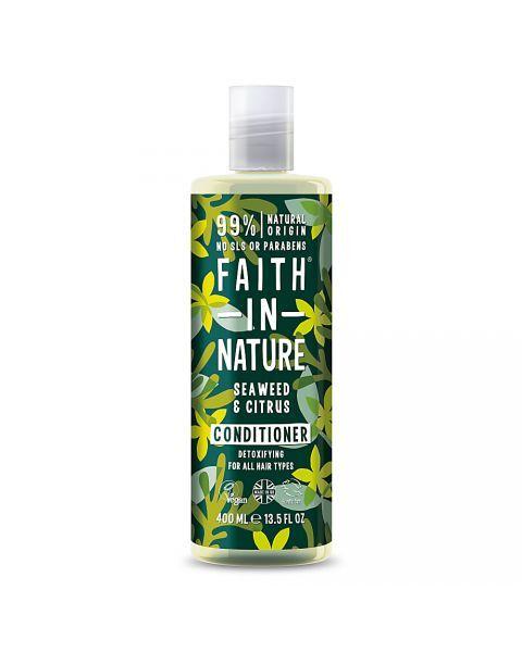 Detoksikuojamasis kondicionierius FAITH IN NATURE su jūros dumbliais, 400 ml