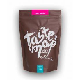 Šviežiai skrudinta malta kava Taste Map BRAZIL MOGIANA, 250g