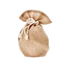 Daugkartinio naudojimo džiuto maišelis dovanoms (3 L) SUZTAIN, 1 vnt.