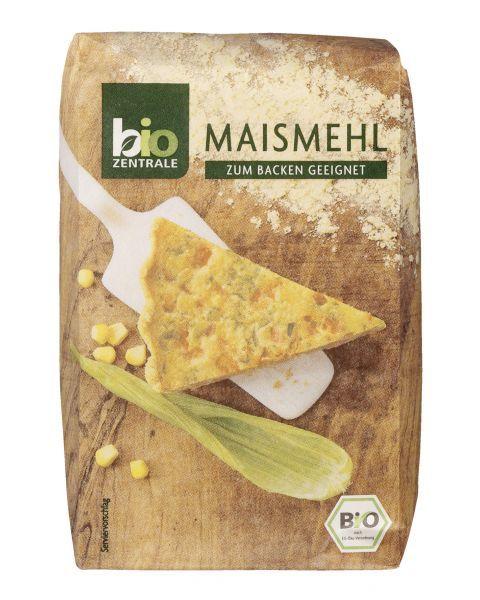Ekologiški kukurūzų miltai BIOZENTRALE, 500 g