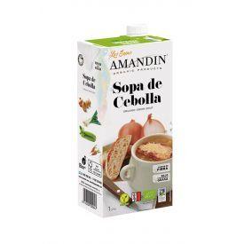 Ekologiška prancūziška svogūnų sriuba AMANDIN, 1000 ml