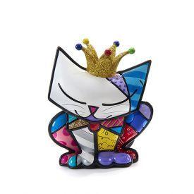Mini statulėlė BRITTO šventinis kačiukas, 1 vnt.