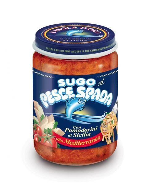 Kardžuvės padažas  L'ISOLA D'ORO su vyšniniais pomidoriukais, 130 g