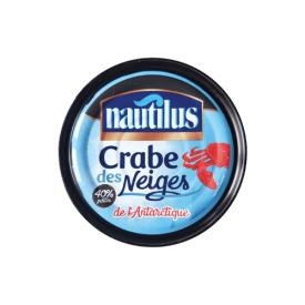 Konservuota snieginių krabų mėsa ir kojos NAUTILUS, 190 g