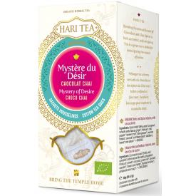 """Ekologiška ajurvedinė arbata HARI TEA """"Mystery of Desire"""" Spicy Choco Chai, 10 maišelių"""