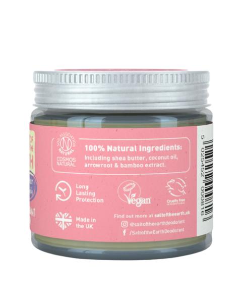 Natūralus tepamas dezodorantas SALT OF THE EARTH su vanile ir levandomis, 60g 3