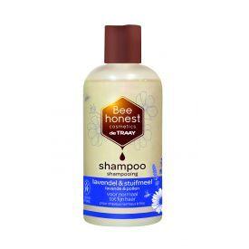 Plaukų šampūnas su levandomis ir žiedadulkėmis BEEHONEST, 250 ml
