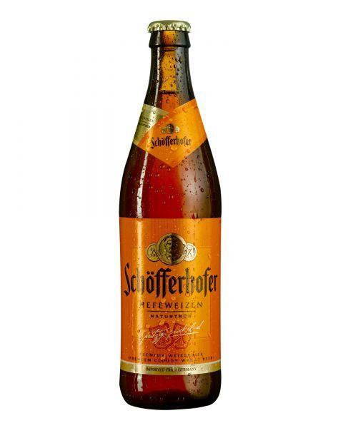 ŠVIESUS KVIETINIS ALUS Schofferhofer Hefe Weizen, 500 ml but. 5%