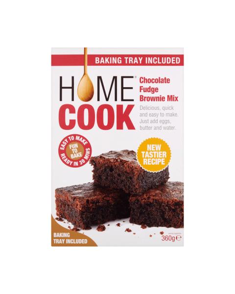 """Šokoladinio """"Brownie"""" pyrago mišinys HOMECOOK, 360 g"""