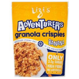 """Sausi pusryčiai su bananais LIZI'S """"Granola"""", 400 g"""