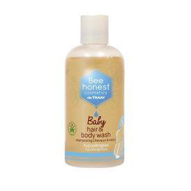 Kūno ir plaukų prausiklis vaikams BEEHONEST, 250 ml
