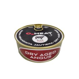 Brandintos Black Angus jautienos konservai OXMEAT, 250g