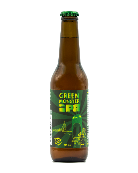 "Alus APYNYS ""Green Monster IPA"" 6,3%, 330ml"