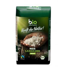 Ekologiški ilgagrūdžiai ryžiai Fair Trade BIOZENTRALE, 500 g