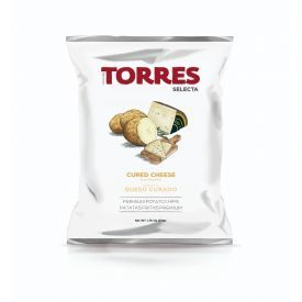 Bulvių traškučiai kietojo sūrio skonio TORRES, 50g