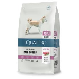 Sausas visų veislių suaugusių šunų pašaras QUATTRO Extra lamb, 3kg