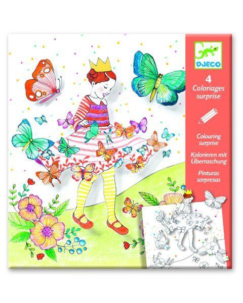 Spalvinimo rinkinys DJECO Lady Butterfly (DJ09629)