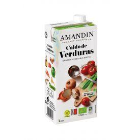 Ekologiškas daržovių sultinys AMANDIN, 1000 ml