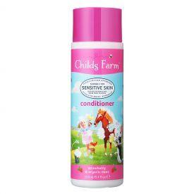 Plaukų kondicionierius vaikams CHILDS FARM su braškėmis ir ekologiškomis mėtomis, 250 ml