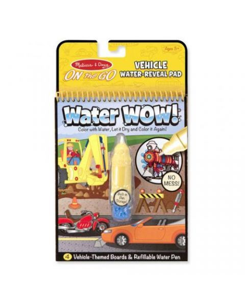"Spalvinimo vandeniu rinkinys MELISSA & DOUG ""Vehicles"", 1 vnt."