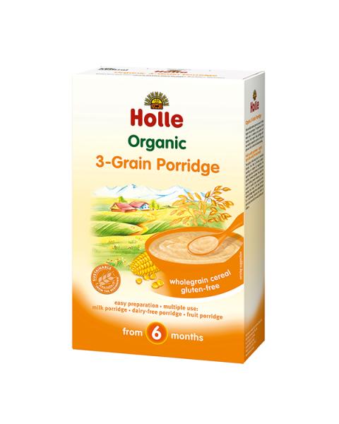Trijų grūdų košė HOLLE vaikams nuo 6 mėn., 250 g