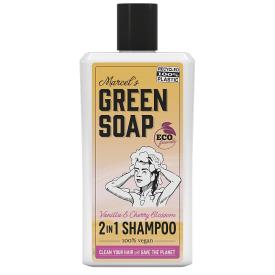Šampūnas MARCELS GREEN SOAP su vanile ir vyšnių žiedais, 500 ml