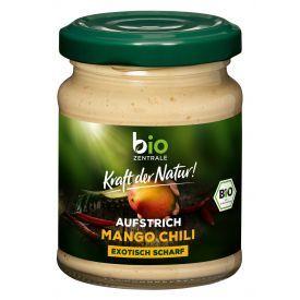 Ekologiška mangų ir čili pipirų užtepėlė BIOZENTRALE, 125 g