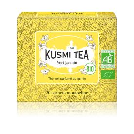 Ekologiška Žalioji arbata JASMIN KUSMI TEA, 20*2g