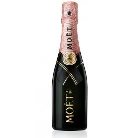 Šampanas MOET IMPERIAL BRUT ROSE 12% 200ml