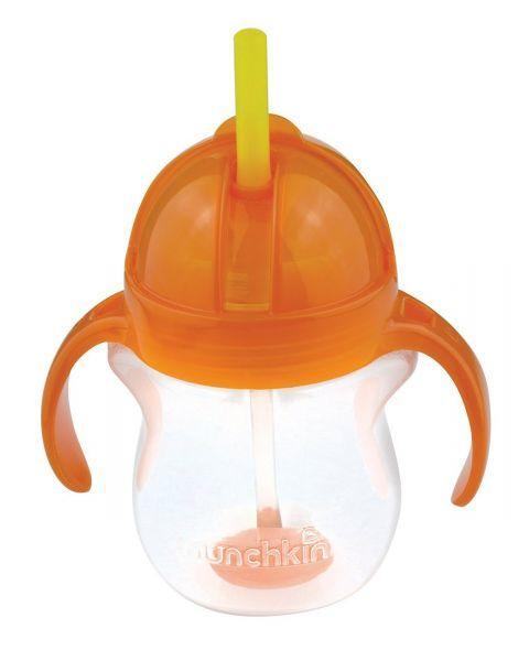 Neišsiliejanti gertuvė MUNCHKIN Click Lock su rankenėlėmis vaikams nuo 6 mėn., 207 ml 2