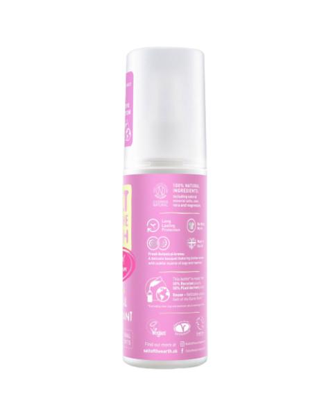 Natūralus purškiamas dezodorantas SALT OF THE EARTH su bijūnų žiedais, 100 ml 3