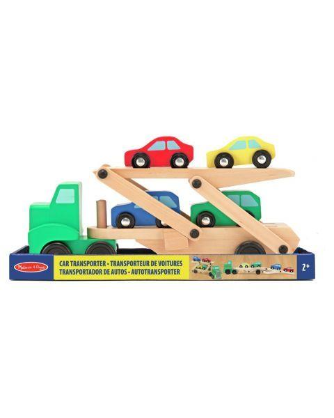 Medinis automobilių sunkvežimis MELISSA & DOUG, 1 vnt.