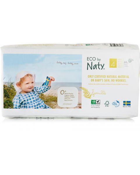 Sauskelnės EKO by NATY 4 Maxi 7-18 kg vaikams, 44 vnt.