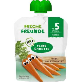 Ekologiška morkų tyrelė FRECHE FREUNDE, nuo 5 mėn., 70 g
