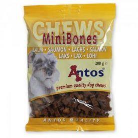 Maži kauliukai su lašiša šunims Mini Bones Salmon, 200 g